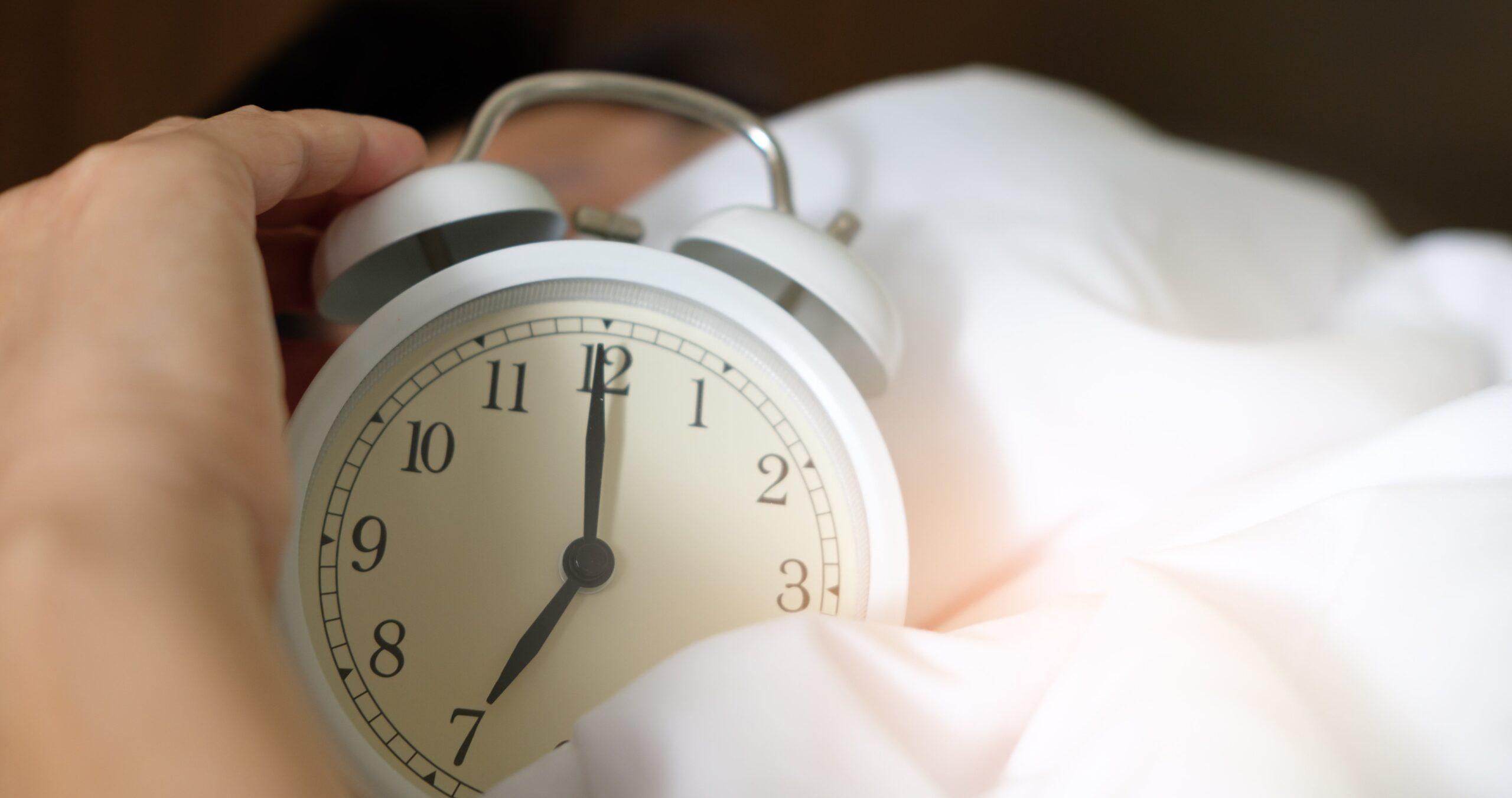 sveglia presto per una buona morning routine