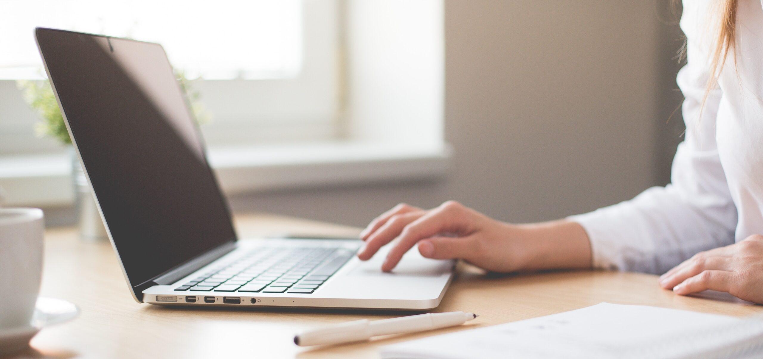 Postazione di lavoro in smart working