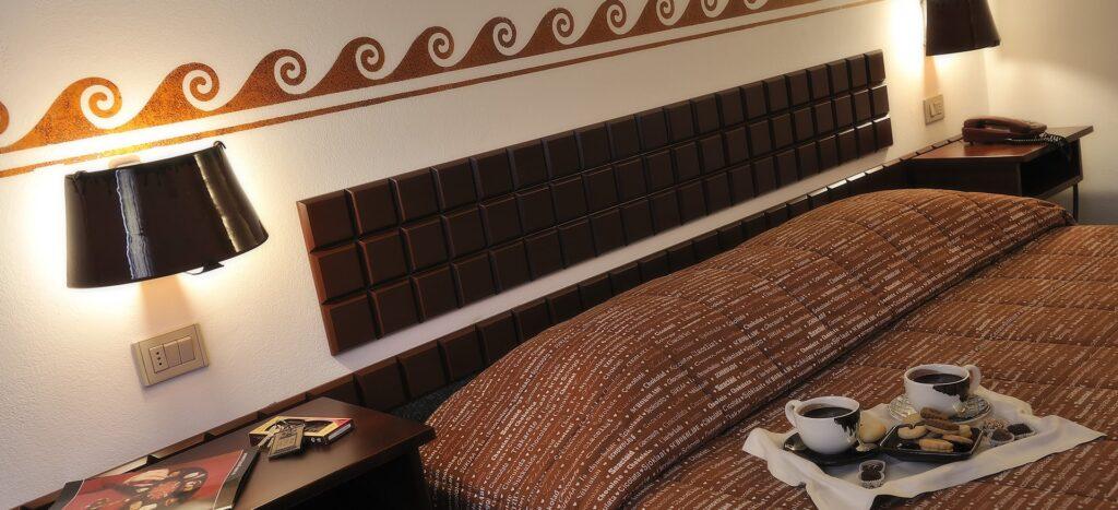alloggi particolari: choco hotel in umbria