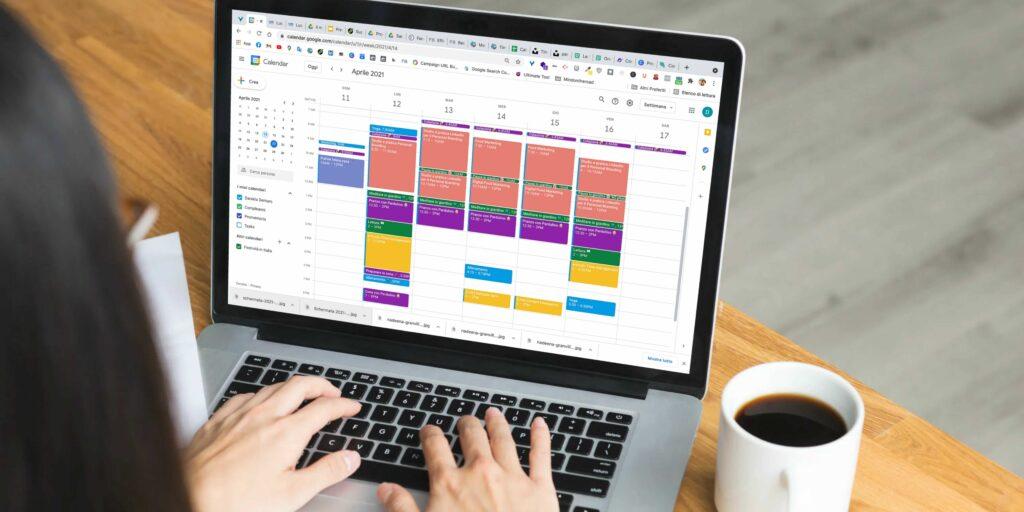 time management con google calendar